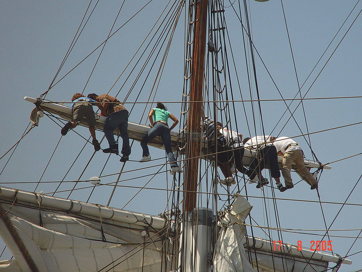 053 Reefing topsail on Exy Johnson.jpg