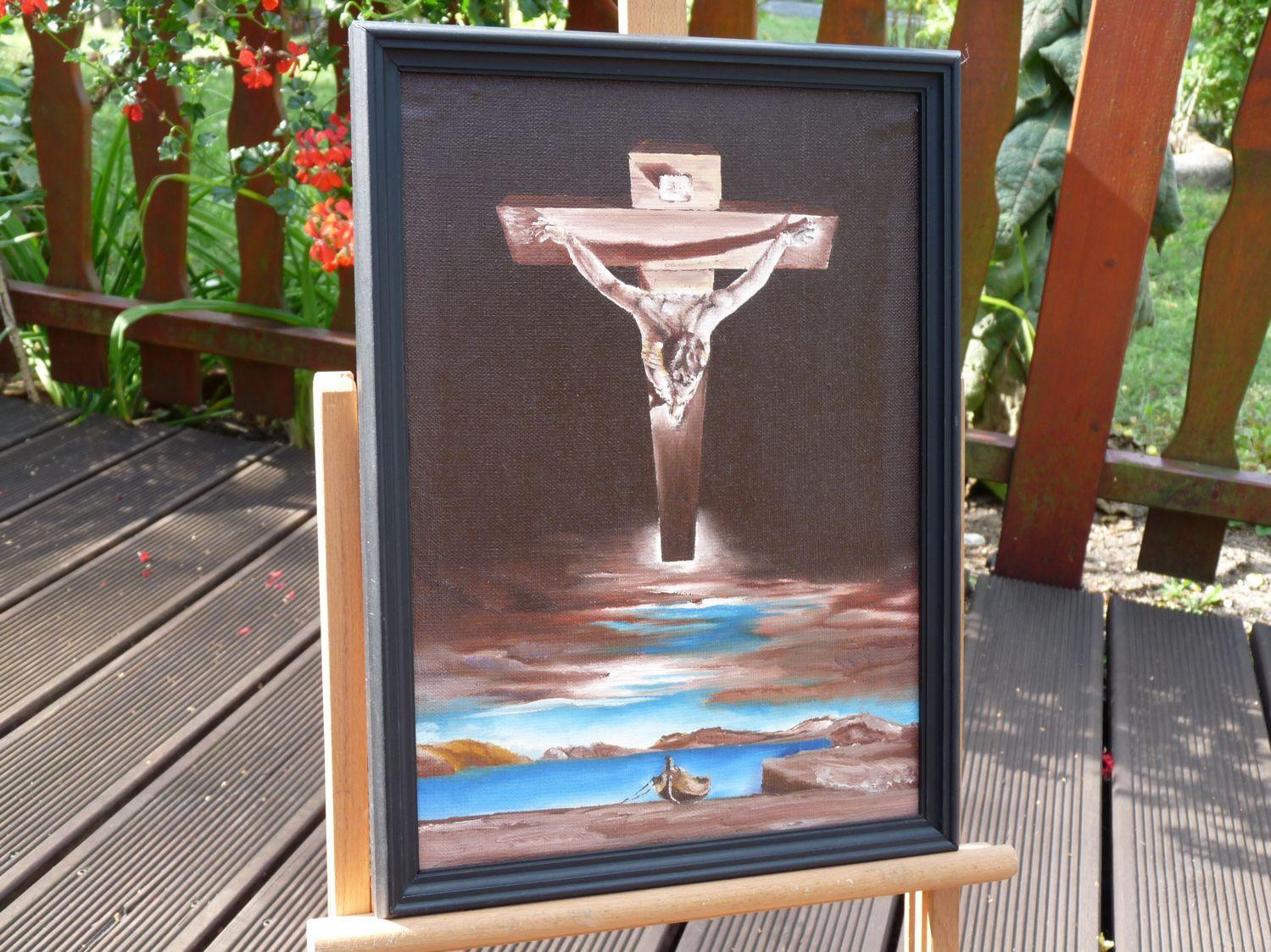 Chrystus Świętego Jana od Krzyża - Salvador Dali - Kopia Obrazu.jpg