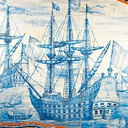 galeony - portugalskie kafelki - azulejo
