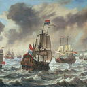 800px-Reinier_Nooms_-_Before_the_Battle_of_the_Downs_-_c.1639