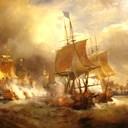 Combat_d'Ouessant_juillet_1778_par_Theodore_Gudin