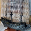 Black Pearl scratch build 1:72