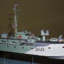 Kuter torpedowy Vosper 72 Nr 240 Pro-Model 1:100